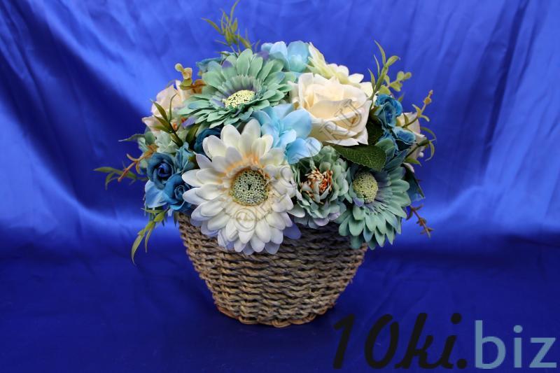 Корзинка с цветами арт. 056-077 Свадебные корзинки и сита в России