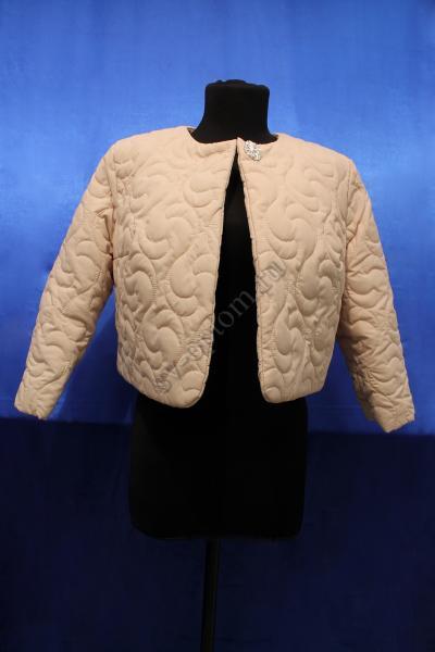 Куртка Цвет: Пудра раз. 42-50, рукав 3/4 арт. 016-012