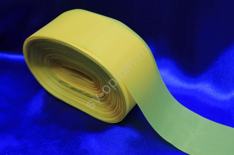 Лента капроновая Цвет: Желтый 5см*100м арт. 134-081