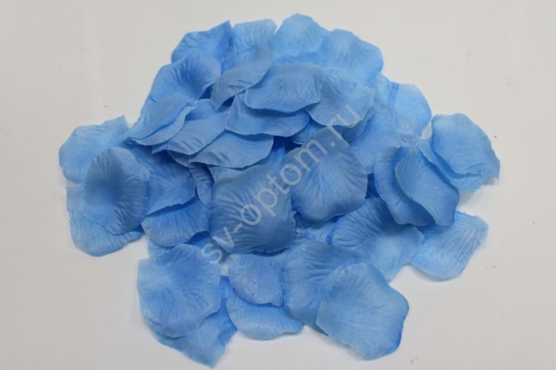 Лепестки роз голубые арт. 077-043