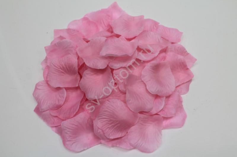 Лепестки роз светло-розовые арт. 077-057