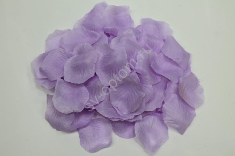Лепестки роз сиреневые арт. 077-056
