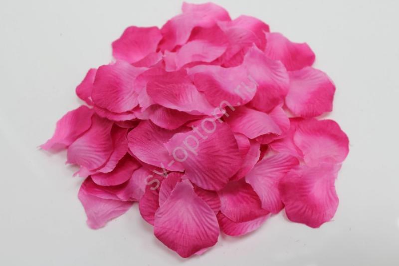 Лепестки роз темно-розовые арт. 077-060
