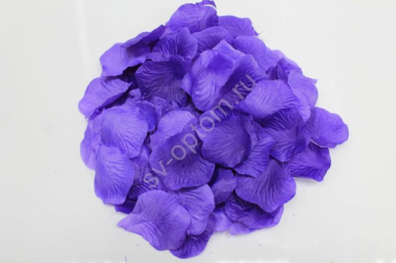 Лепестки роз фиолетовые арт. 077-051