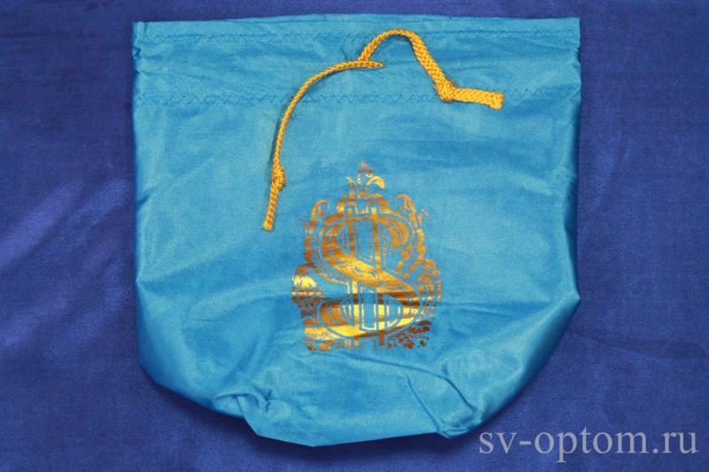 Мешочек для денег синий арт. 071-136