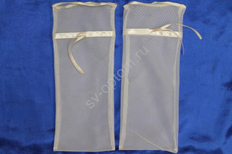 Мешочки для битья бокалов (белый) 40х20см арт. 045-546