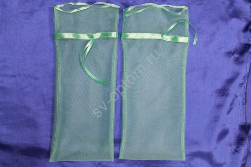 Мешочки для битья бокалов (бирюзовый) 40х20см арт. 045-547