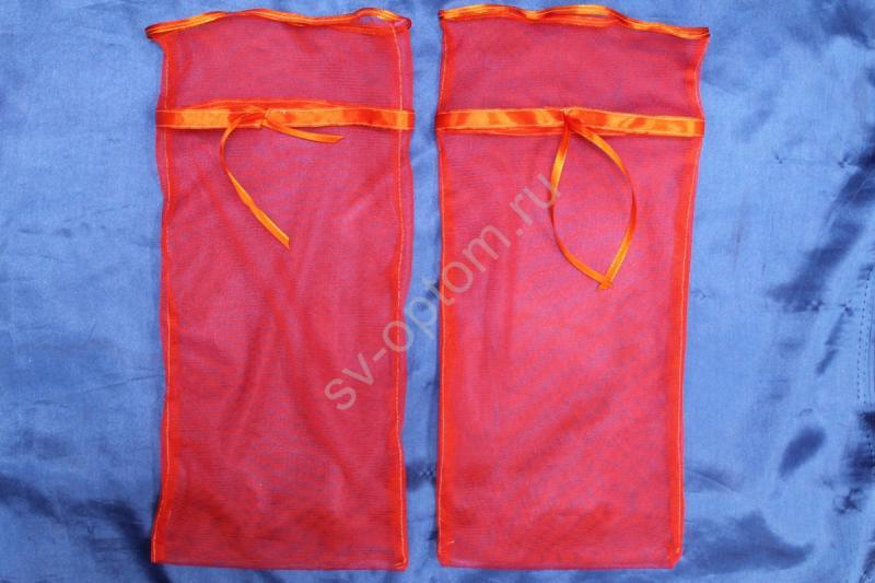 Мешочки для битья бокалов (красный) 40х20см арт. 045-545