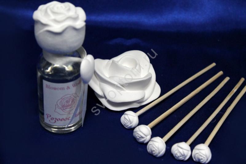 Набор ароматический с розовым маслом арт. 059-017