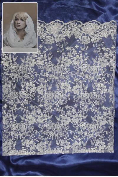 Накидка белая (13) арт. 014-068