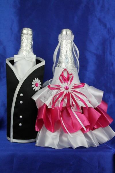 Одежда на шампанское малина,арт.047-063