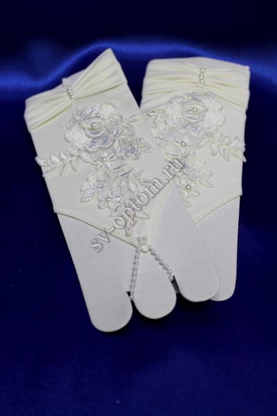 Перчатки Цвет: айвори. арт. 023-086