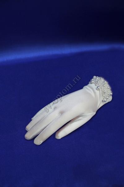 Перчатки Цвет: Белый арт.  025-011