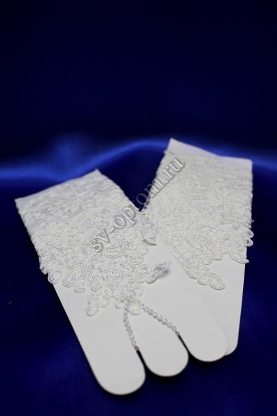 Перчатки Цвет: Белый. арт. 023-079