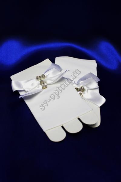 Перчатки Цвет: Белый. арт. 023-104
