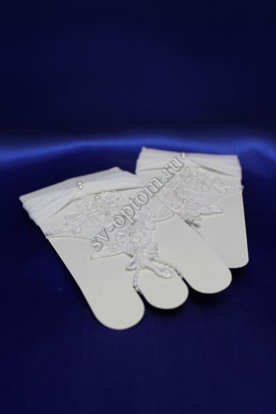 Перчатки Цвет: Белый. арт. 023-108