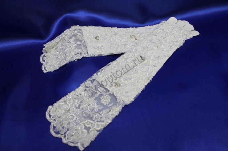 Перчатки Цвет: Белый. арт. 024-031