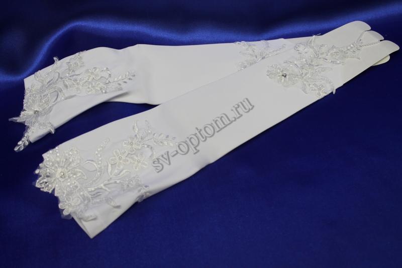 Перчатки Цвет: Белый. арт. 024-056