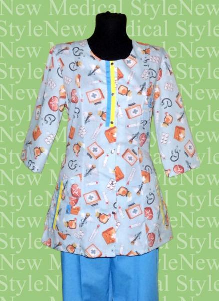 Фото Женская одежда Костюм «Зверюшки» на кнопках.
