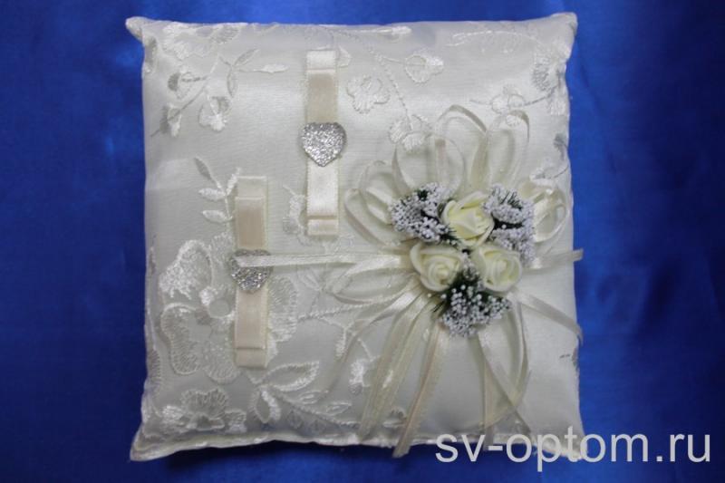Подушка для колец Цвет: Айвори арт. 0117-100