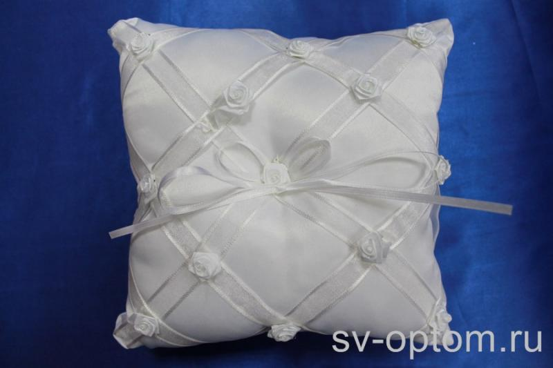 Подушка для колец Цвет: Белый арт. 117-097