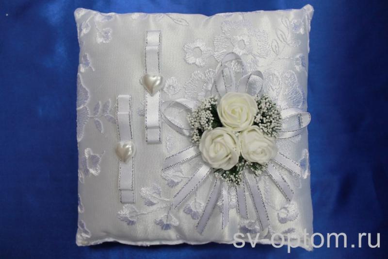 Подушка для колец Цвет: Белый арт. 117-099