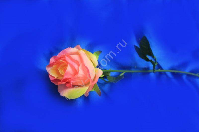 Роза розовая на стебле арт.138-142