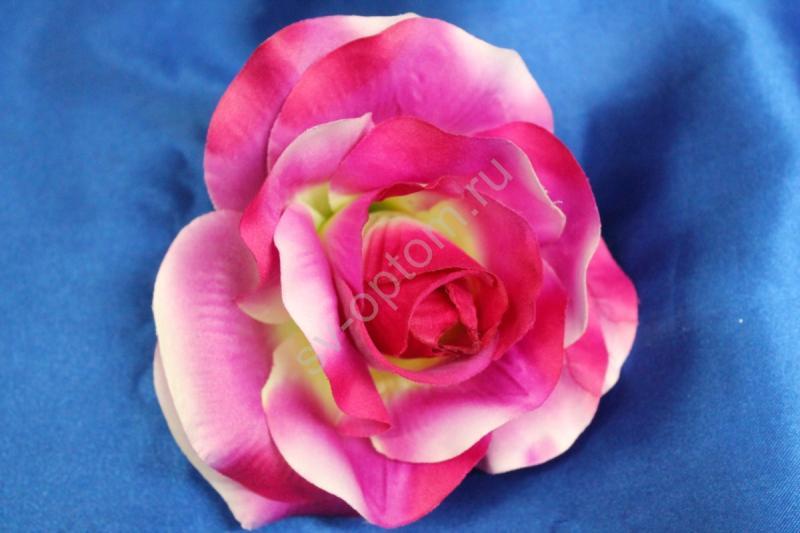 Роза сиреневая матовая (головка) Мин. заказ от 10шт! арт. 137-004