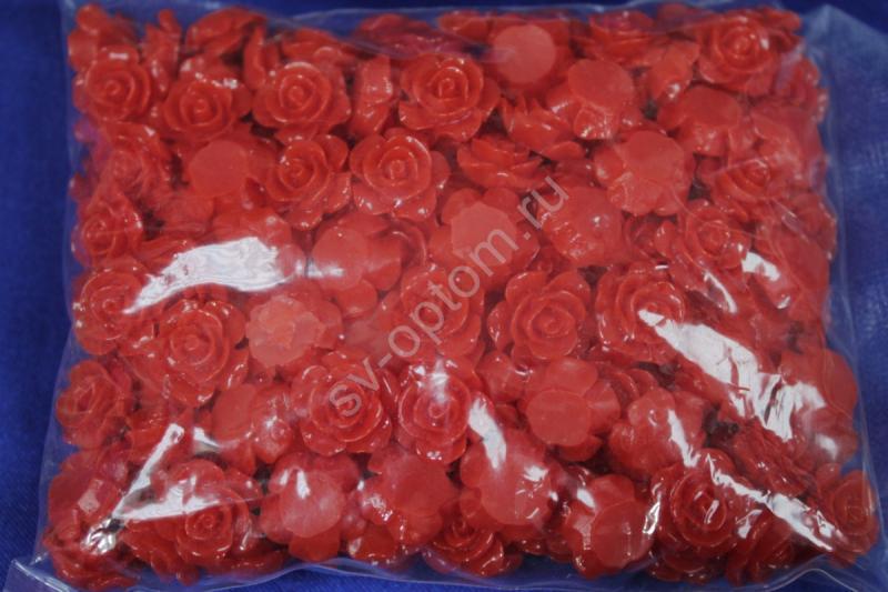 Розочки красные 15мм 200шт sas2024 арт. 141-049