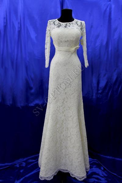 Свадебное платье Цвет: Айвори раз. 40, 42, 44, 46, 48. арт.011-032