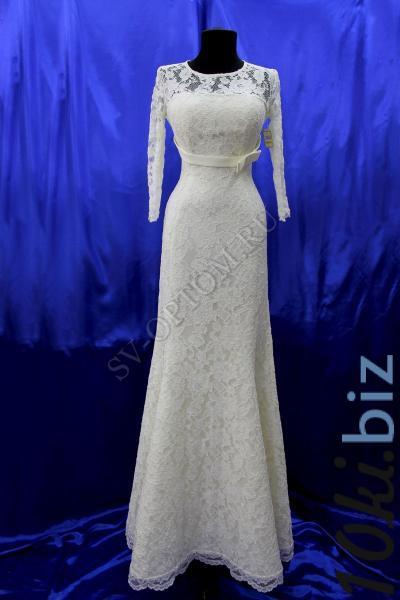 Свадебное платье Цвет: Айвори раз. 40, 42, 44, 46, 48. арт.011-032 Свадебные платья купить на рынке Дубровка
