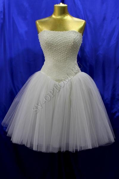 Свадебное платье Цвет: Айвори раз. 46. арт. 011-028