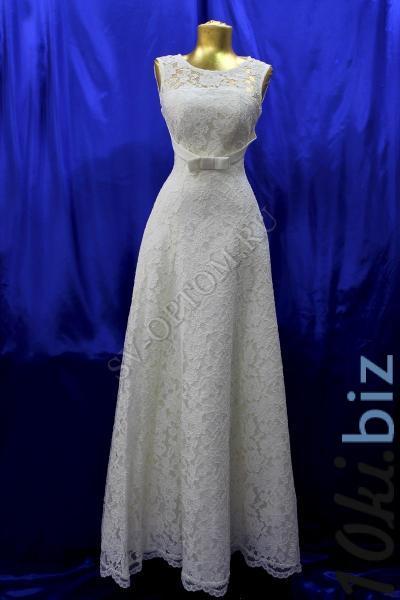 Свадебное платье Цвет: Айвори №1111 раз. 40, 50. арт. 011-038 Свадебные платья на Онлайн рынке России