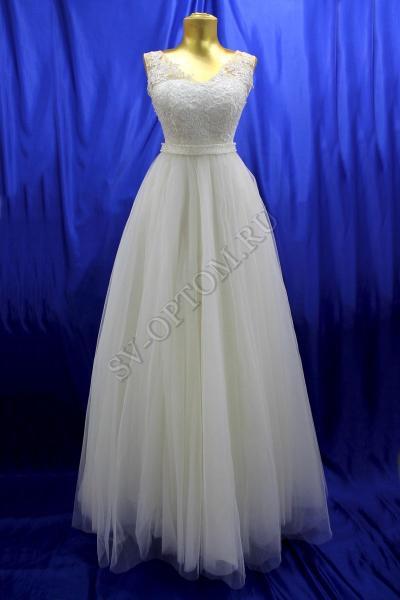 Свадебное платье Цвет: Айвори №1230 раз. 42. арт. 011-086