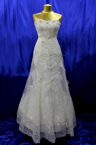 Свадебное платье Цвет: Айвори №376 раз. 46. арт. 011-036