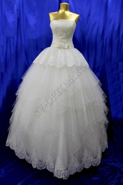 Свадебное платье Цвет: Айвори №969 раз. 40. арт.011-029