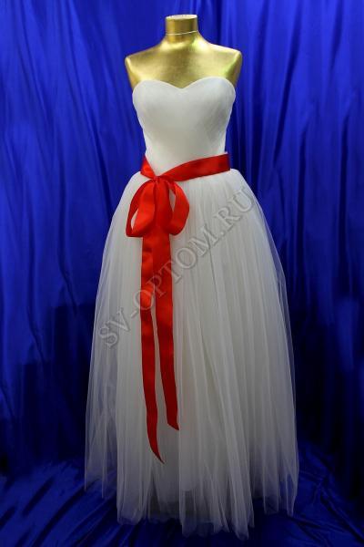 Свадебное платье Цвет: Айвори, Белый №189 раз. 48, 50, 52. арт. 011-058
