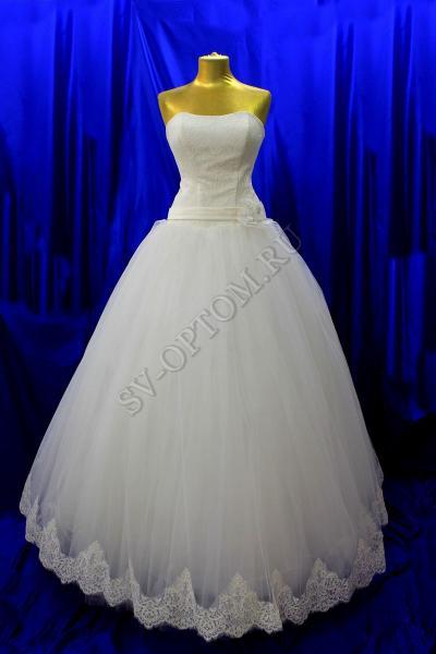 Свадебное платье Цвет: Айвори, Белый №41 раз. 48. арт. 011-158