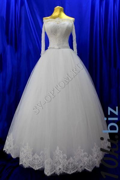 Свадебное платье Цвет: Белый раз. 42-50. арт. 011-155 Свадебные платья в России
