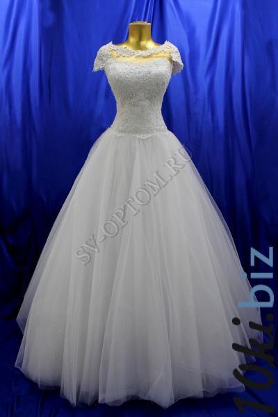 Свадебное платье Цвет: Белый №1 раз. 46. арт. 011-130 Свадебные платья в России