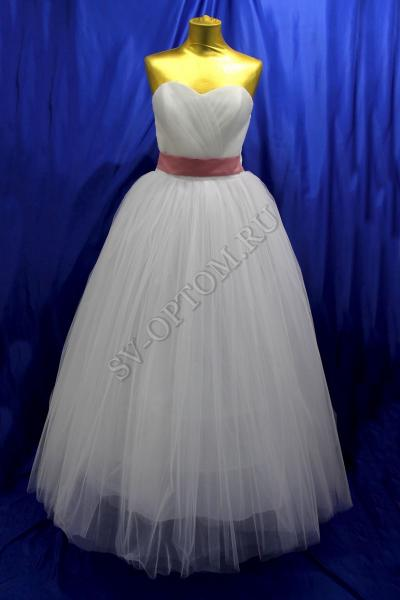 Свадебное платье Цвет: Белый №11 раз. 52. арт.011-092