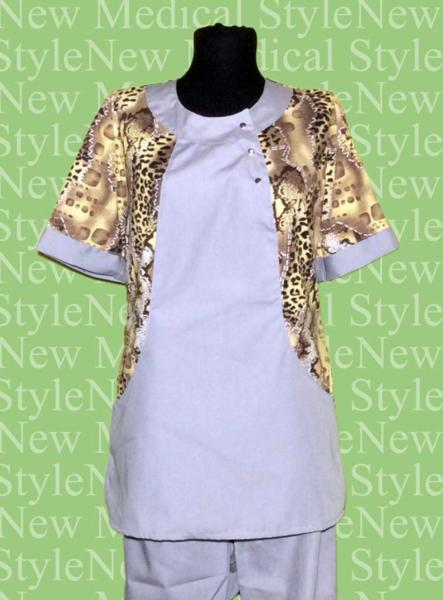 Фото Женская одежда Костюм «С трикотажными вставками»