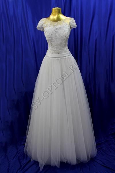 Свадебное платье Цвет: Белый №41 раз. 46. арт.011-062