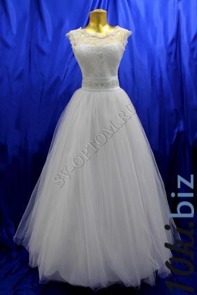 Свадебное платье Цвет: Белый №468 раз. 42. арт. 011-147 Свадебные платья на Онлайн рынке России