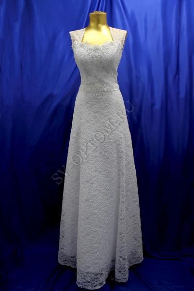 Свадебное платье Цвет: Белый №558 раз. 40. арт. 011-098