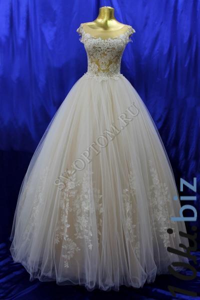Свадебное платье Цвет: Пудра №1312 раз. 42, 44. арт.011-014 Свадебные платья купить на рынке Дубровка