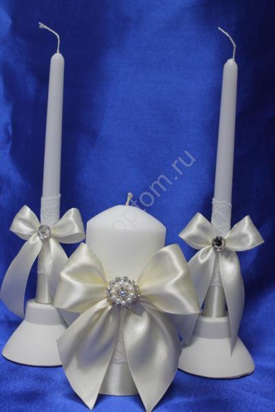 Свечи Семейный очаг белые арт. 062-131