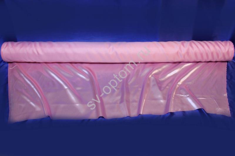 Ткань атлас розовая длина 100м ширина 150см (хорошее качество!) арт. 143-004