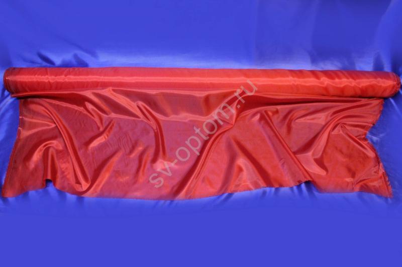 Ткань капрон красная длина 100м ширина 150см арт.9-002