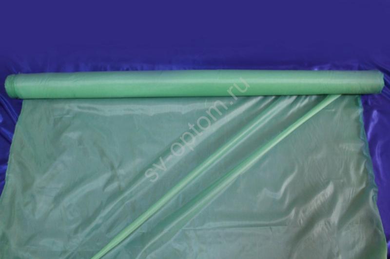 Ткань капрон салатовая длина 100м ширина 150см арт.9-008
